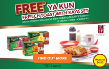BRAND'S® x Essence of Chicken Herbal Range x Ya Kun Promotion