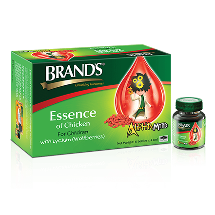 BRAND'S Essence of Chicken for Children with Vitamin B Complex – 6s x 41ml