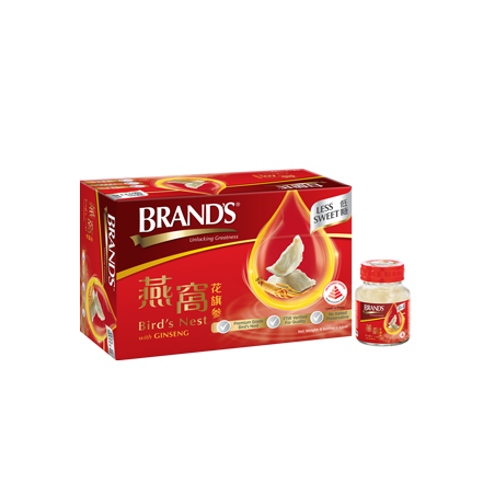 BRAND'S Bird's Nest with American Ginseng & Rock Sugar – 6s x 68ml