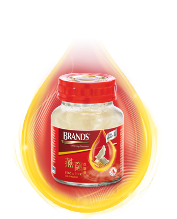 BRAND'S Bird's Nest with American Ginseng & Rock Sugar – Bottle 68ml