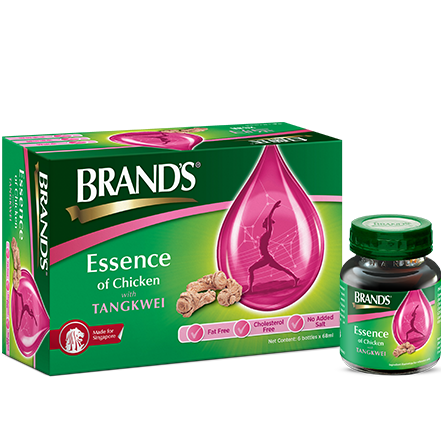 BRAND'S Essence of Chicken with Tangkwei – 6s x 68ml