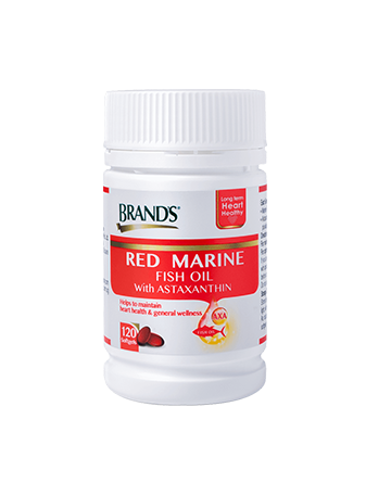 BRAND'S®  Red Marine Fish Oil