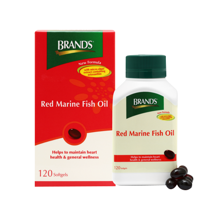 Red marine fish oil with astaxanthin brand 39 s for Best fish oil supplement brand