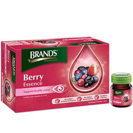 BRAND'S InnerShine Berry Essence – 12s x 42ml