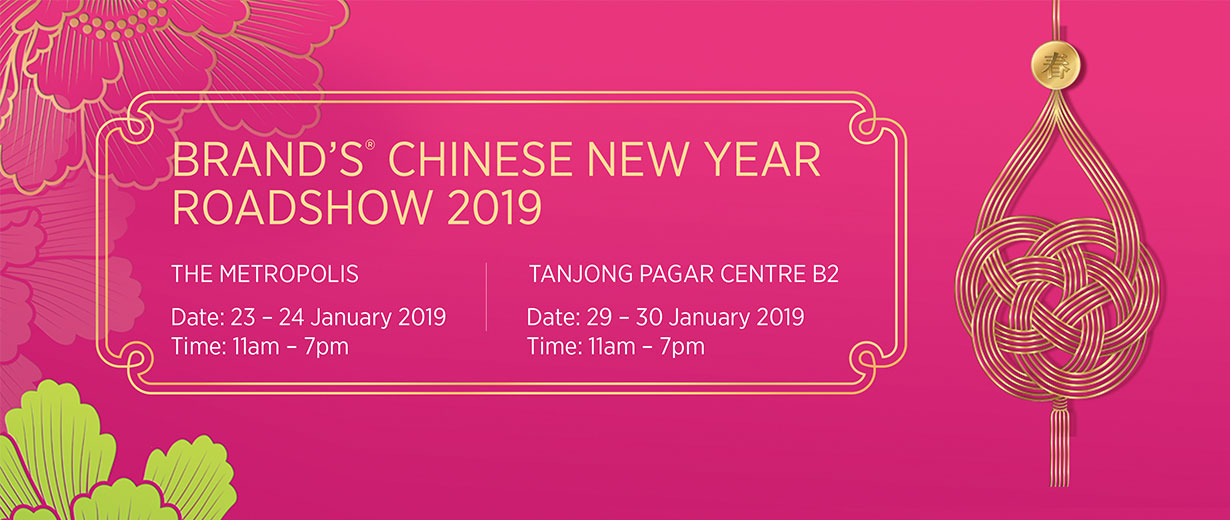 BRAND'S Chinese New Year Roadshow 2019