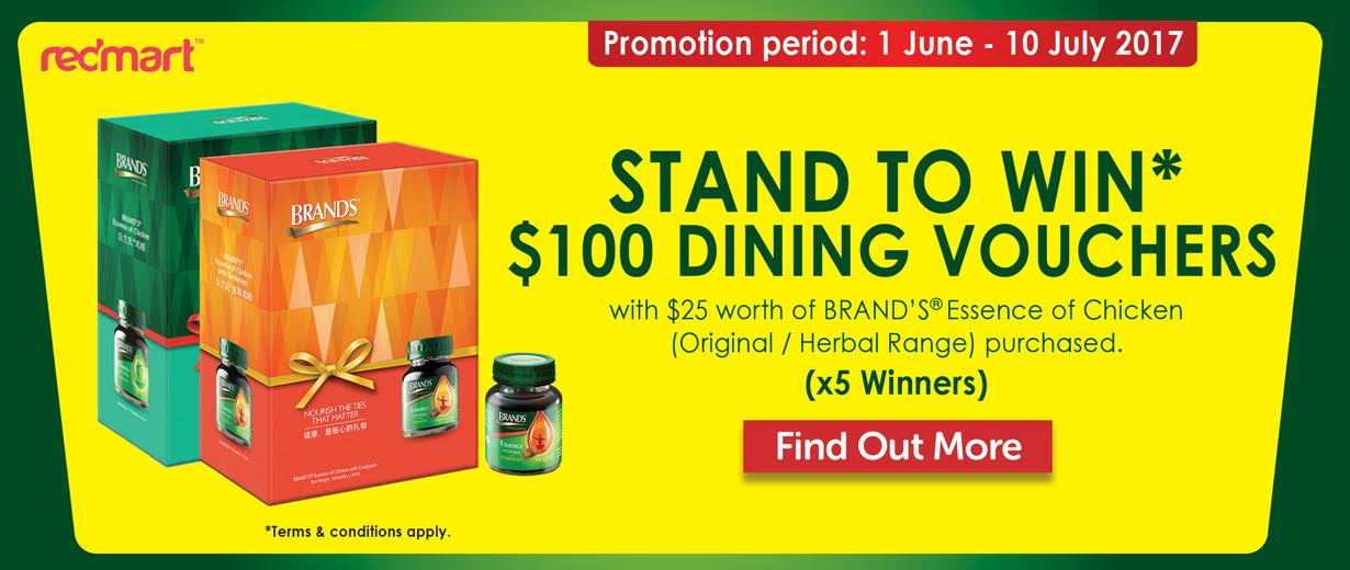 BRAND'S Redmart Father's Day Contest