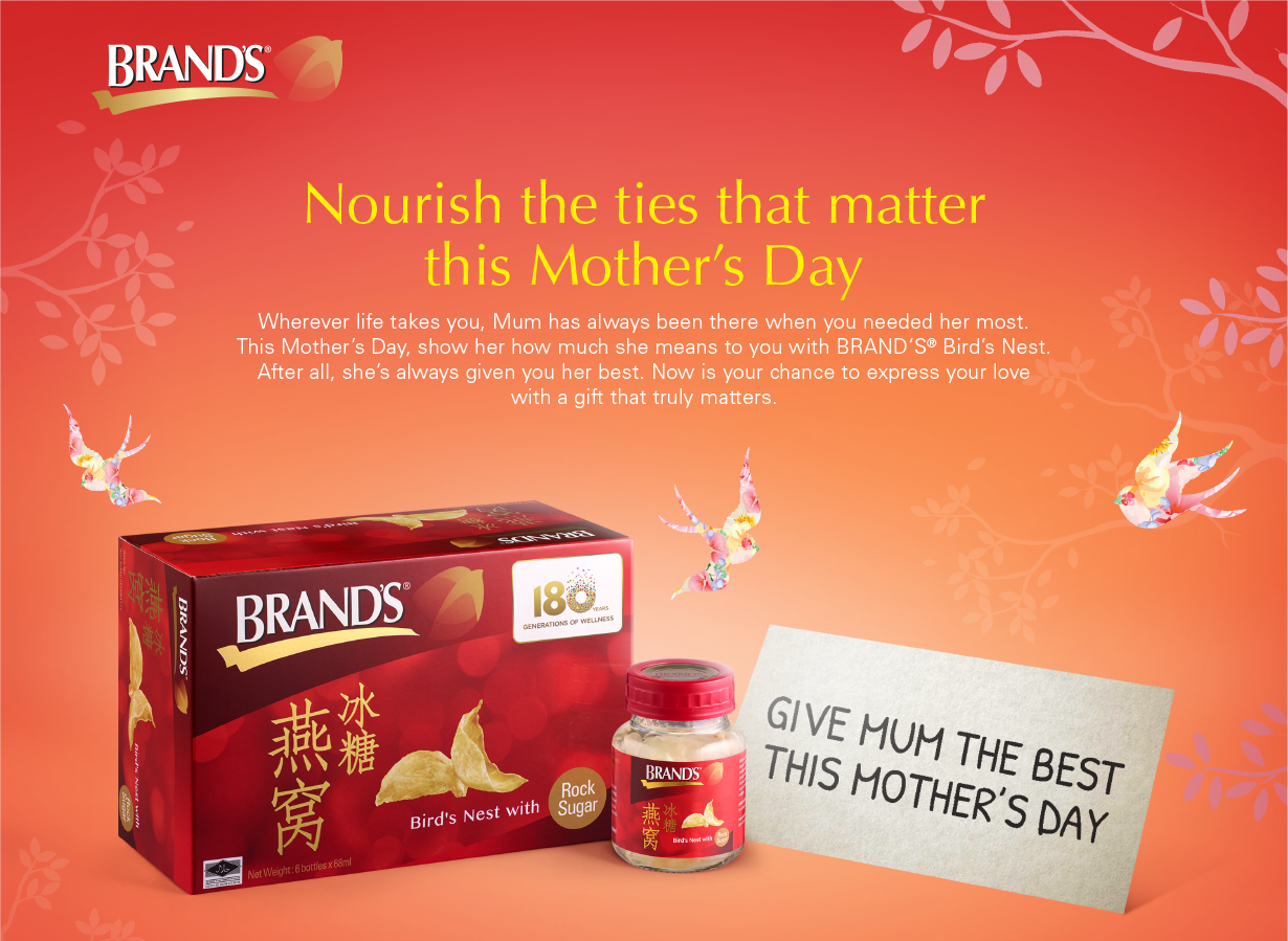 BRAND'S® – Give Your Mum The Best masthead