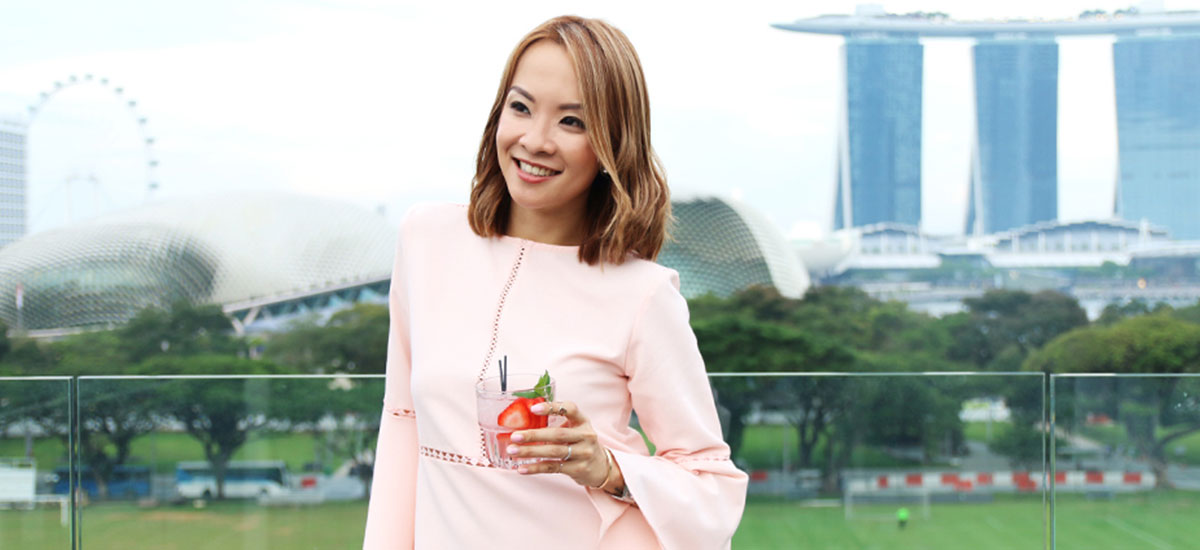 BRAND'S® Article - Getting Ready For A Day Out With Jade Seah
