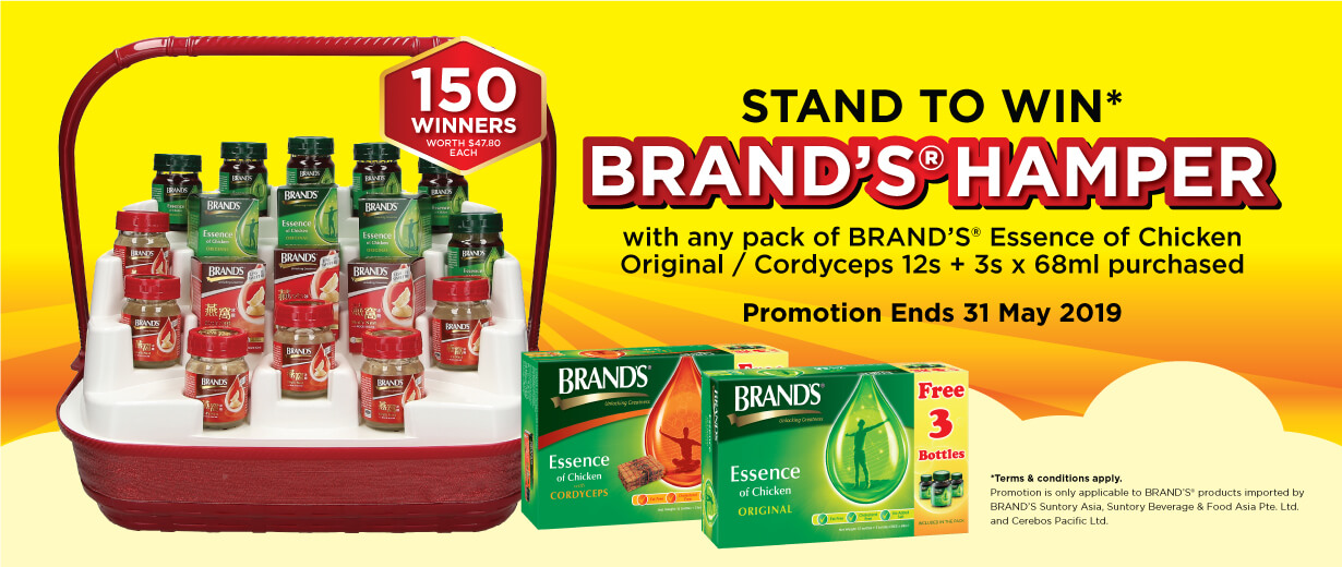 BRAND'S® Hamper Fairprice Exclusive Promotion