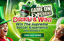 BRAND'S<sup>®</sup> Game On Experience