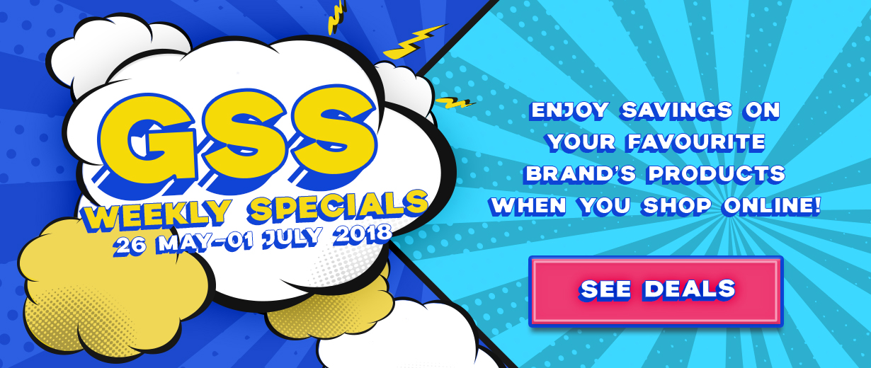 Enjoy GSS Savings On Your Favourite BRAND'S Products