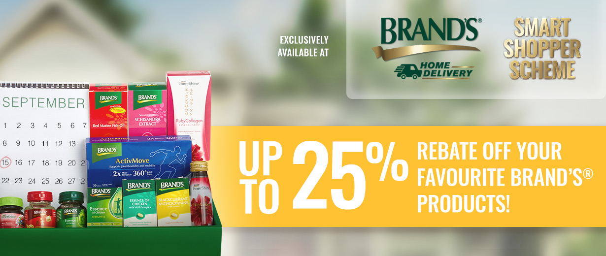 BRAND'S® – Smart Shopper Scheme masthead desktop